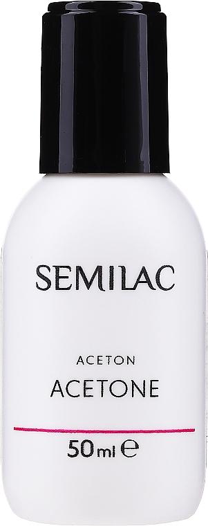 Acétone cosmétique pour vernis hybride - Semilac Acetone