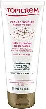 Parfums et Produits cosmétiques Lait corporel pour peaux sensibles effet nacré - Topicrem Ultra-Moisturizing Pearly Body