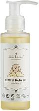 Parfums et Produits cosmétiques Huile à la vitamine E pour bébé - Lille Kanin Bath & Baby Oil