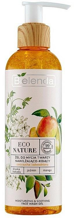Gel nettoyant pour visage - Bielenda Eco Nature Kakadu Plum, Jasmine and Mango