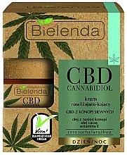 Parfums et Produits cosmétiques Crème de jour et nuit à l'huile de graines de chanvre - Bielenda CBD Cannabidiol Cream