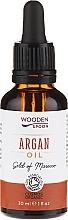 Parfums et Produits cosmétiques Huile d'argan bio pressée à froid - Wooden Spoon 100% Pure Argan Oil
