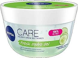 Parfums et Produits cosmétiques Gel hyaluronique à l'extrait de concombre pour visage - Nivea Care Fresh Hydro Gel