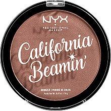 Parfums et Produits cosmétiques Poudre bronzante corps et visage - NYX Professional California Beamin Face & Body Bronzer