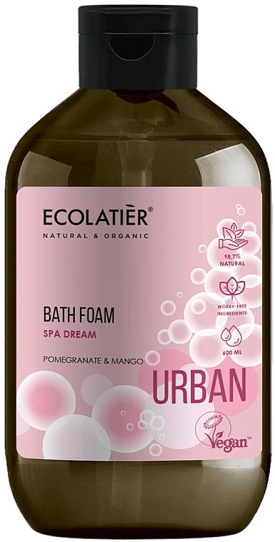 Mousse de bain à la grenade et mangue - Ecolatier Urban Bath Foam