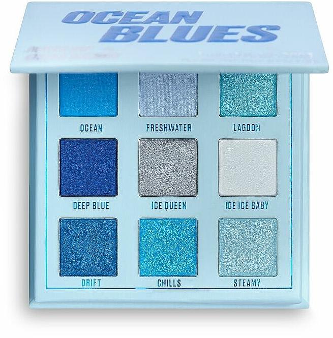 Palette de fards à paupières - Makeup Obsession Ocean Blues Eyeshadow Palette