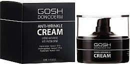 Parfums et Produits cosmétiques Crème au complexe de peptides pour visage, SPF 10 - Gosh Donoderm Anti Wrinkle Cream Prestige