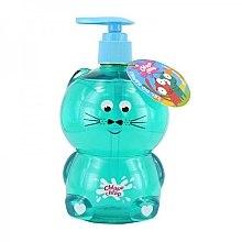 Parfums et Produits cosmétiques Gel douche et bain à l'arôme de glace à la vanille pour enfants, Chat - Chlapu Chlap Bath & Shower Gel