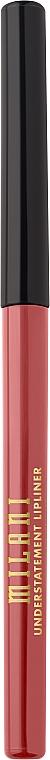 Crayon à lèvres automatique - Milani Understatement Lipliner — Photo N1