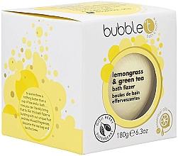 Parfums et Produits cosmétiques Bombe de bain effervescente, Citronnelle et Thé vert - Bubble T Bath Fizer In Lemongrass & Green Tea
