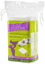 Parfums et Produits cosmétiques Disques démaquillants, carrées 60 pcs - Silver Care Cotton Squares