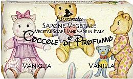 Parfums et Produits cosmétiques Savon naturel artisanal, Vanille - Florinda Sapone Vegetale Vegetal Soap Vanilla