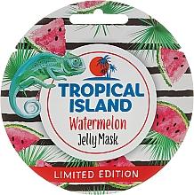 Parfums et Produits cosmétiques Masque à la pastèque et extrait de thé vert pour le visage - Marion Tropical Island Watermelon Jelly Mask