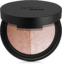 Parfums et Produits cosmétiques Palette pour visage - Aden Cosmetics Highlighter & Bronzer Duo