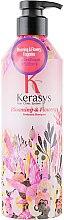 Parfums et Produits cosmétiques Shampooing parfumé pour cheveux gras - KeraSys Blooming & Flowery Perfumed Shampoo