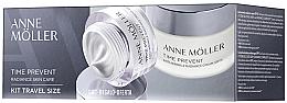 Parfums et Produits cosmétiques Anne Moller Time Prevent - Set (crème pour visage/50ml + crème pour visage/15ml)