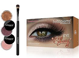 Parfums et Produits cosmétiques Kit fards à paupières avec pinceau - Bellapierre Eye Slay Kit Romantic Brown