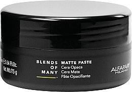 Parfums et Produits cosmétiques Pâte coiffante matifiante à tenue moyenne - Alfaparf Milano Blends Of Many Matte Paste