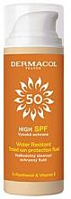 Parfums et Produits cosmétiques Fluide solaire teinté waterproof - Dermacol Sun Tinted Water Resistant Fluid SPF50