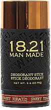 Parfums et Produits cosmétiques Déodorant stick - 18.21 Man Made Sweet Tobacco Deodorant