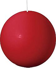 Parfums et Produits cosmétiques Bougie ronde, rouge, 80 mm - Bolsius Candle