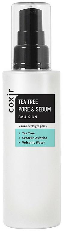 Émulsion à l'huile d'arbre à thé pour visage - Coxir Tea Tree Pore & Sebum Emulsion — Photo N1