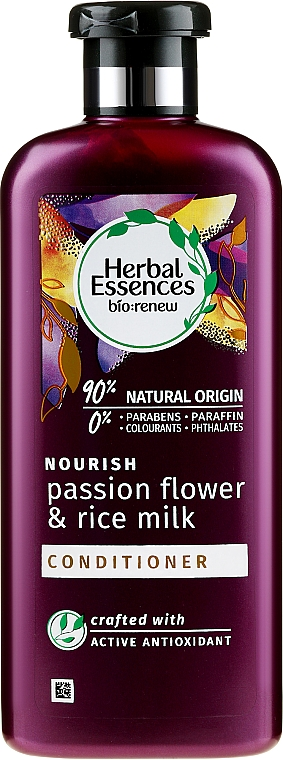 Après-shampooing - Herbal Essences Passion Flower & Rice Milk Conditioner — Photo N1