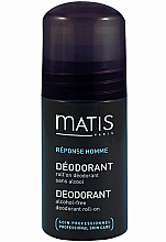 Déodorant roll-on sans alcool - Matis Reponse Homme Alcohol Free Deodorant roll-on — Photo N1