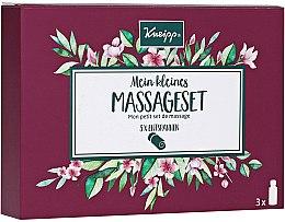 Parfums et Produits cosmétiques Kneipp Massage Set - (huiles de massage/3x20 ml)