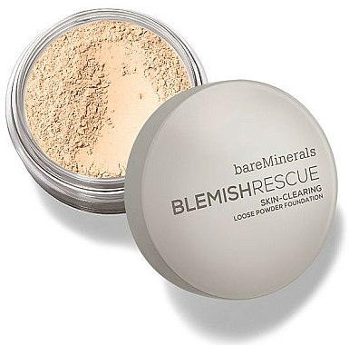 Poudre libre visage - Bare Escentuals Bare Minerals Blemish Rescue Skin-Clearing Loose Powder Foundation