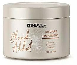 Parfums et Produits cosmétiques Masque à l'huile de noyau d'abricot pour cheveux - Indola Blond Addict Treatment