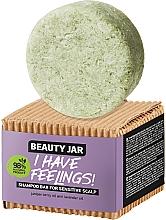 Parfums et Produits cosmétiques Shampooing solide à l'huile de genièvre et lavande pour cuir chevelu - Beauty Jar I Have Feelings