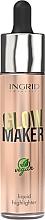 Parfums et Produits cosmétiques Enlumineur liquide - Ingrid Cosmetics Glow Maker Bali Vegan Highlighter