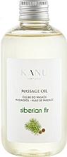 Parfums et Produits cosmétiques Huile de massage Sapin de Sibérie - Kanu Nature Siberian Fir Massage Oil