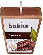Parfums et Produits cosmétiques Bougie parfumée, Bois d'Oud, 47/47 mm - Bolsius True Scents Candle