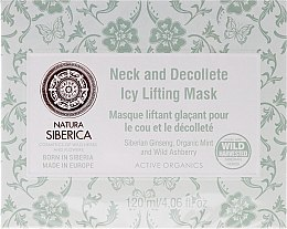 Parfums et Produits cosmétiques Masque liftant glaçant pour le cou et le décolleté - Natura Siberica