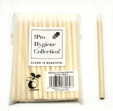 Parfums et Produits cosmétiques Applicateur de brillant à lèvres en bambou, jetable - The Pro Hygiene Collection