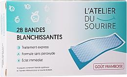 Parfums et Produits cosmétiques Bandes blanchissentes pour dents, goût framboise - L'Atelier Du Sourire