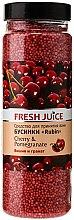 Parfums et Produits cosmétiques Perles de bain à la cerise et grenade - Fresh Juice Bath Bijou Rubin Cherry and Pomergranate