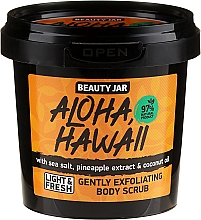 Parfums et Produits cosmétiques Gommage pour corps - Beauty Jar Aloha Hawaii Gently Exfoliating Body Scrub