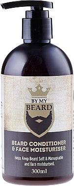 Baume hydratant à l'huile d'avocat et menthol pour barbe et visage - By My Beard Beard Care Conditioner