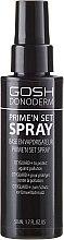 Parfums et Produits cosmétiques Spray fixateur de maquillage - Gosh Donoderm Prime`n Set