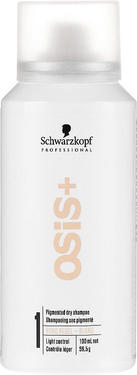 Shampooing sec pigmenté pour cheveux blonds - Schwarzkopf Professional Osis+ Boho Rebel Blond