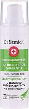 Parfums et Produits cosmétiques Gel antibactérien à l'aloe vera pour mains - Dr. Szmich Antibacterial Guarantee Hands Cleansing Gel
