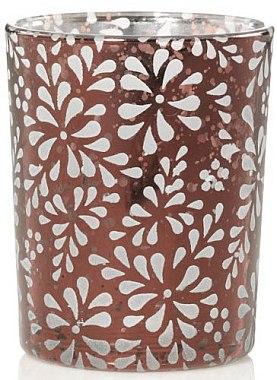 Photophore en verre texturé à effet bronze en dégradé pour bougie votive - Yankee Candle Sheridan Holder — Photo N1
