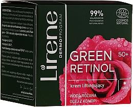 Parfums et Produits cosmétiques Crème de jour à l'huile de chanvre - Lirene Green Retinol Lifting Day Cream 50+