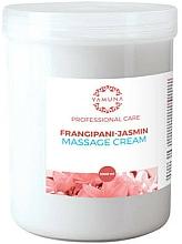Parfums et Produits cosmétiques Crème de massage, Plumeria et jasmin - Yamuna Massage Cream