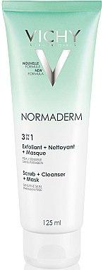 Nettoyant multifonctionnel à l'argile blanche et zinc pour visage - Vichy Normaderm Tri-Activ Nettoyant — Photo N1