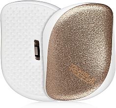 Parfums et Produits cosmétiques Brosse démêlante compacte, or pailleté - Tangle Teezer Compact Styler Glitter Gold
