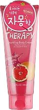 Parfums et Produits cosmétiques Crème à l'extrait de pamplemousse pour corps - Farms Therapy Sparkling Body Cream Grapefruit